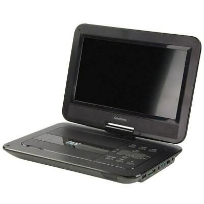 "Goodmans 10"" Widescreen Portable DVD Player with Car Mount & Remote RRP £59.99"