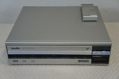 Pioneer Ld-700 Video Disc Player With Remote Control - For Parts Or Not Working
