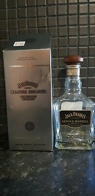 Jack Daniels Silver Select Empty Bottle With Box