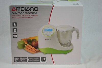 Ambiano Baby Food Processor, Five Function, LCD, New