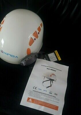 Climbing Helmet Xinda Climbing Safety Hat Size 52/56 Adjustable