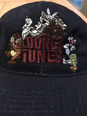 5d7cde9cc4d Rare 1991 Vintage Embroidered Looney Tunes Snapback Hat Warner Bros. Store