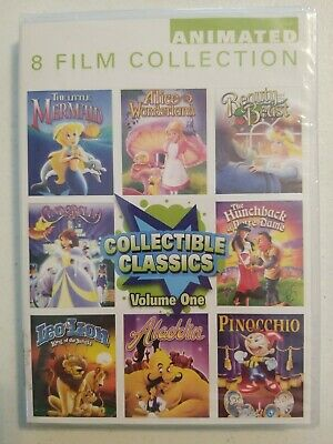 Collectible Classics: Animated 8 Film Collection, Vol. 1 (DVD, 2012, 2-Disc Set)