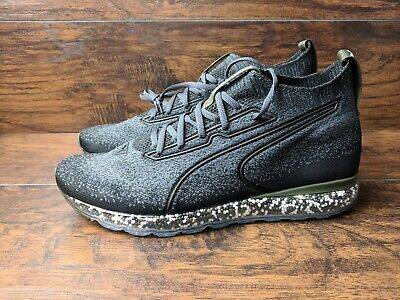 BRAND NEW PUMA Jamming Men's Size 13 EvoKnit Lace Up Trainers Sock Style Black