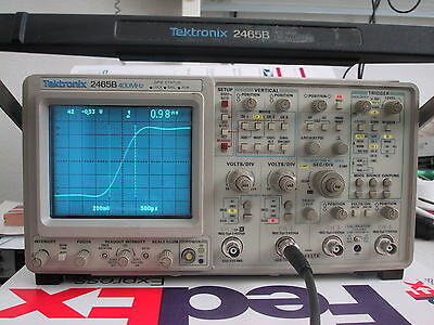 TEKTRONIX 2465B 400MHz OSCILLOSCOPE; refurbed @ BIN; cal & 1 Yr Guar available