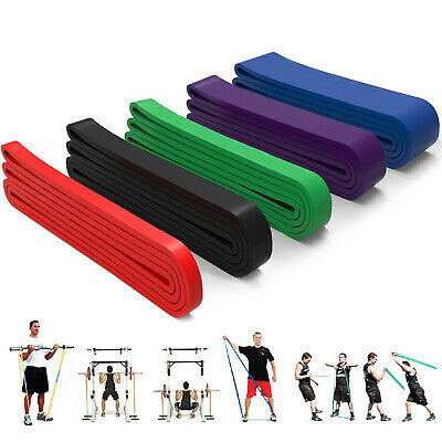 Pull Up Exercise Bands Latex Resistance Streching Assist Bands Fitness Gym Home