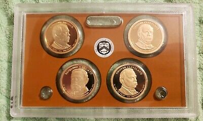 (1) 2012 S United States Mint Presidential $1 Coin Proof Set No Box No COA #104