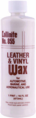 Collinite 855 Leather & Vinyl Wax - Long Lasting Protection + FREE Applicator
