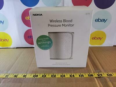 Nokia BPM BP-801 Wireless Bluetooth Blood Pressure Monitor iOS Android Open Box