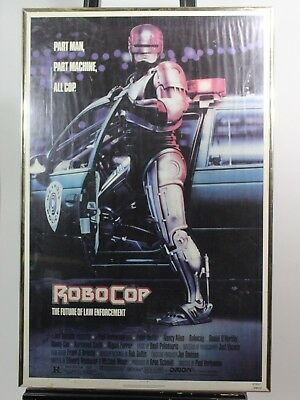 """ROBOCOP 1987 NSS MOVIE POSTER 27X41Rare """"Property of National Screen Service.."""""""