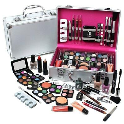 60Pc Makeup Kit Cosmetic Make Up Beauty Box Travel Carry Gift Set Urban
