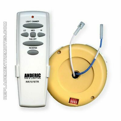 NEW ANDERIC CEILING Fan Kit for UC7067RC - $49.95 | PicClick on