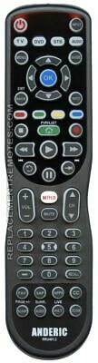 NEW ANDERIC Remote Control for  1240021237, 12400213, 1240021323, 1240023101