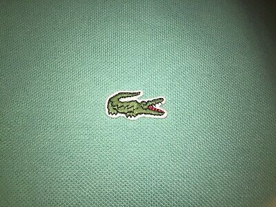 14cf3e146f LACOSTE POLO SHIRT Mint Green/Green Alligator Mens Size 6/Large ...