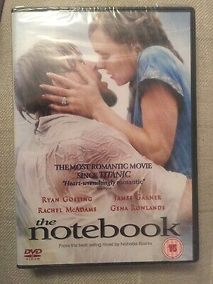 The Notebook: Genuine UK DVD - Brand New and Sealed (Ryan Gosling)