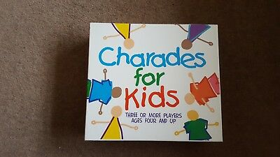 Charades for Kids Complete Childrens Game, Paul Lamond Games, Free P&P!