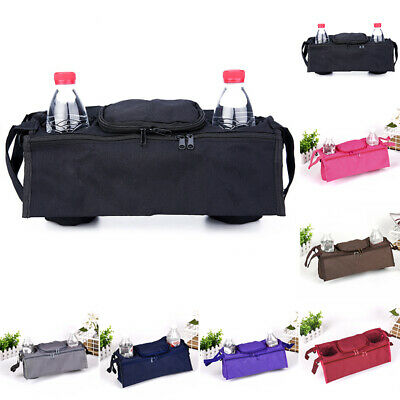 Pushchair Storage Bag Cup Holder Drink Oxford Fabric stroller Buggy comfortable