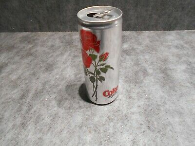coca cans / canette coca cola light rose