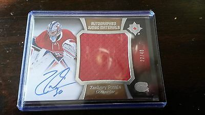 a94483606ac 2015-16 ULTIMATE COLLECTION ZACHARY FUCALE Rookie Auto Jumbo Materials 22/40  (C
