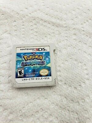 Pokemon Alpha Saphire Nintendo 3DS Game Cart Cartridge Only TESTED WORKS