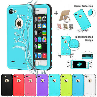 For iPhone 6S 7 8 Plus Shockproof Waterproof Armor Hard Case Full Protect Cover