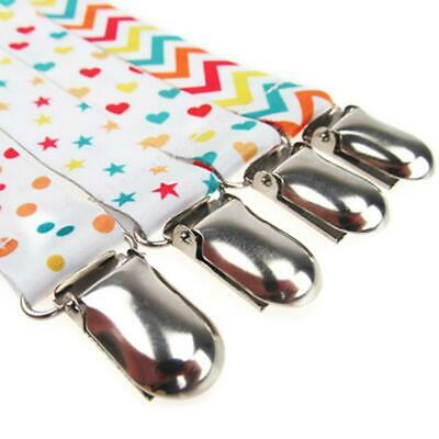 Infant Feeding - Baby Ribbon Dummy Clips Soother Pacifier Chain Nipple Holder LJ
