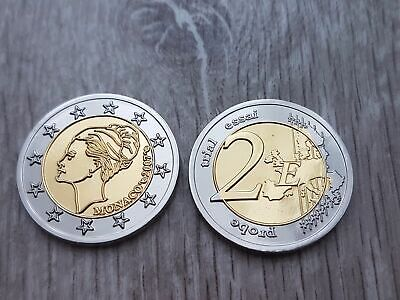 2 Euro Monaco Grace Kelly 2007 - Probe Essai Trial !!