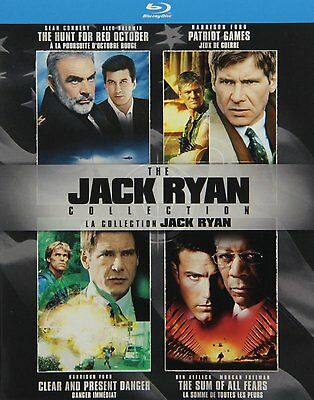 The Jack Ryan Collection [Blu-ray] *NEW*