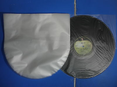 12inch LP 100 pcs PLASTIC RECORD INNER SLEEVES Made in Japan