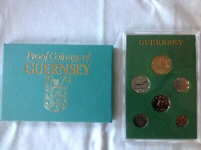 Royal Mint Proof Set : Proof Coinage of Guernsey 1979