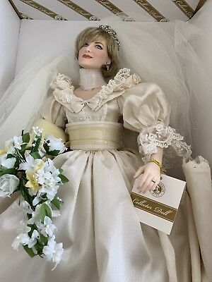 Franklin Mint Princess Diana Bride Doll
