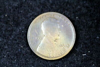 ESTATE FIND 1914 D LINCOLN Wheat Cent  #D18499