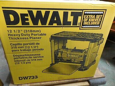 """DeWalt 12-1/2"""" Thickness Planer DW733 15 Amp Corded Electric PICK UP ONLY"""