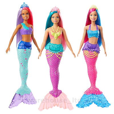 Barbie Dreamtopia Mermaids Merman New 2020 Barbie Dolls - Fast Delivery
