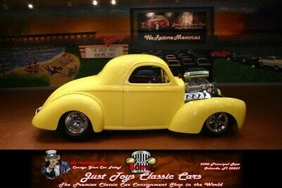 1941 Willys Deluxe -- Yellow Willys Deluxe with 0 Miles available now!