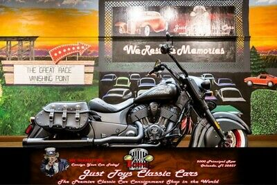 2017 Indian Dark Horse -- Indian Dark Horse Black with 875 Miles, for sale!