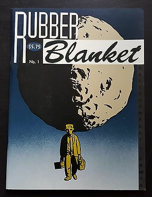 Rubber Blanket 1 - David Mazzucchelli Comics BD Fanzine Small Press self-publish