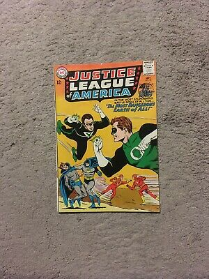 Justice League of America 30 2nd Earth-Three Ultraman Owlman Johnny Quick FN 6.0