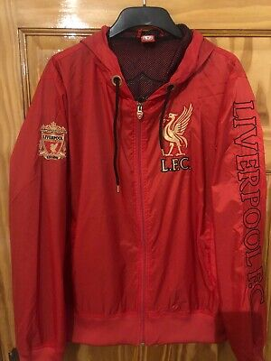 Liverpool Fc Rain Jacket XL Red