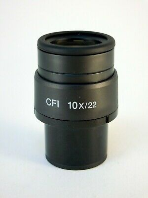 Nikon MAK10100 CFI 10X Eyepiece with dioptre adjustment FOV 22mm