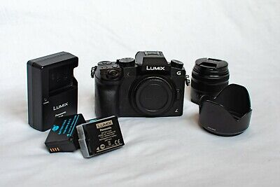 PANASONIC Lumix DMC-G7 Mirrorless Camera w/ 14-42 mm Lens