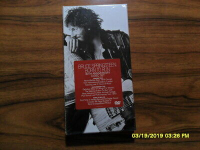 Bruce Springsteen Born To Run-30th Anniversary Ed. rmstrd 3 CD NEW sealed