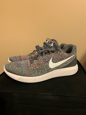 factory price 6b9bd faf0d NEW NIKE MEN'S Lunarepic Low Flyknit 2 Size 12 Cool Grey/White 863779-003