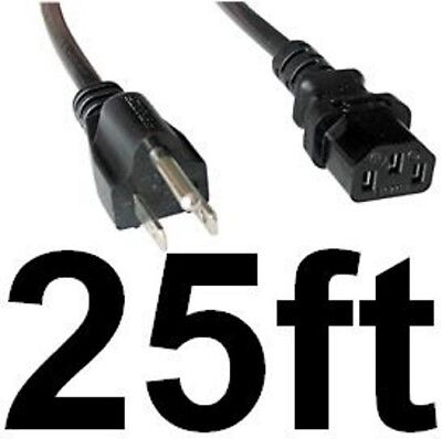 Lot20 10ft 18awg Standard Power Cord//Cable Computer//Printer IEC320 C13 10A 125V