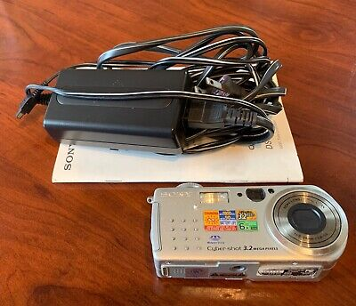 Sony DSC-P5 Cyber-shot 3MP Digital Camera with 3x Optical Zoom