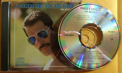 FREDDIE MERCURY Mr Bad Guy RARE EARLY CD Made In Heaven QUEEN Bohemian Rhapsody