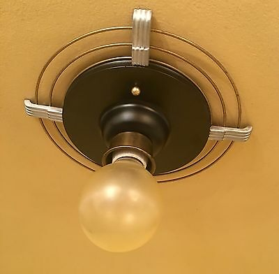 Vintage Lighting 1930s Moderne hall fixture