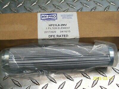 New Hy-Pro Filtration Hp21L8-2Mv Filter Element 20173929