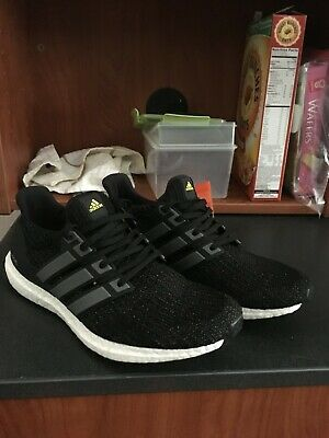 1921aa711ba87 Adidas Ultra Boost 5th Anniversary Black Reflective Men s Size 10.5 New