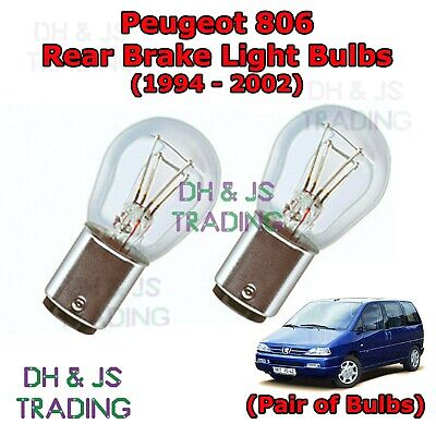 Peugeot 306 Red LED /'Trade/' Wide Angle Side Light Beam Bulbs Pair Upgrade